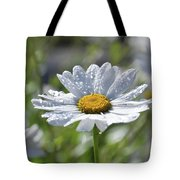 Dewdrop Daisy Tote Bag