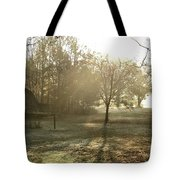Dewdrop Sunrise Tote Bag