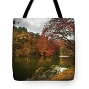 Dewey Lake In Autumn Tote Bag