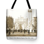 Dewey's Arch Monument, Madison Square, New York, 1900 Tote Bag