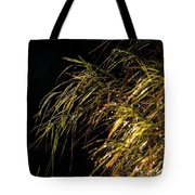 Dewy River Grass Tote Bag