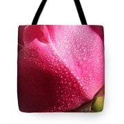 Dewy Rose Tote Bag