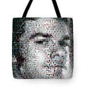 Dexter Blood Splatter Mosaic Tote Bag