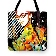 Dexterous Dame Tote Bag by Chris Andruskiewicz