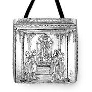 Dhanvantari, God Of Ayurvedic Medicine Tote Bag