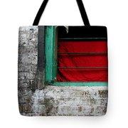 Dharamsala Window Tote Bag