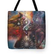 Dharma Of The Sleeper Yo-yo Tote Bag