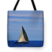 Dhow On The Indian Ocean Tote Bag