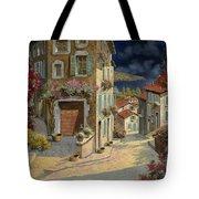Di Notte Al Mare Tote Bag by Guido Borelli