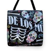 Dia De Los Muertos Banner  Tote Bag