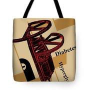 Diabetes No. I Tote Bag