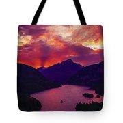 Diablo Lake, United States Tote Bag