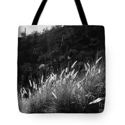 Diagonal Grasses Tote Bag