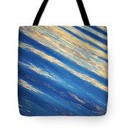 Diagonal Waters Tote Bag