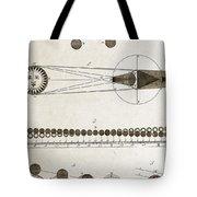 Diagram Of Eclipses, 18th Century Tote Bag
