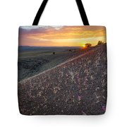 Diamond Craters Sunset Tote Bag
