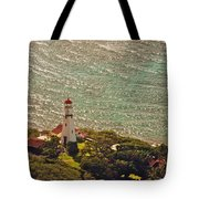 Diamond Head Lighthouse Tote Bag