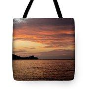 Diamond Head Sunrise Tote Bag