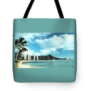 Diamond Head Tote Bag
