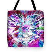 Diamond Heart Tote Bag