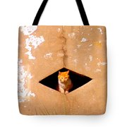 Diamond Kitty Tote Bag