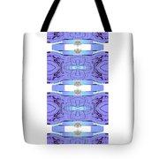 Diamonds Lilac Tote Bag