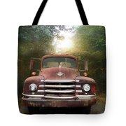 Diamond T Truck Tote Bag