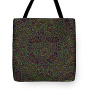 Diamond Tile Insanity Tote Bag