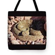 Diamondback Rattlesnake 062414f Tote Bag