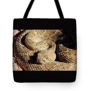 Diamondback Rattlesnake Close-up 062414a Tote Bag