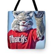 Diamondbacks Mascot Baxter Tote Bag