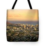 Diamondhead -- Jewel Of Oahu Tote Bag