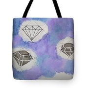 Diamonds In The Sky  Tote Bag