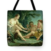 Diana After The Hunt Tote Bag by Francois Boucher