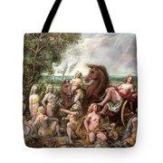 Diana And Entourage Tote Bag