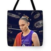 Diana Taurasi Lgbt Pride 4 Tote Bag