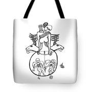 Diane A La Chasse Tote Bag