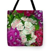 Dianthus Group  Tote Bag