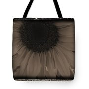 Diatrop Three Quarter Sunflower Tote Bag