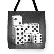 Dice Cubes I Tote Bag