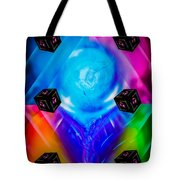 Dice  Game - Funny World 2 Tote Bag