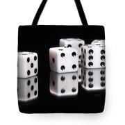 Dice II Tote Bag by Tom Mc Nemar