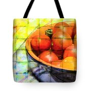 Diced Tomatoes Tote Bag
