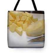 Dicing Potatoes I Tote Bag