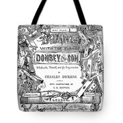 Dickens: Dombey And Son Tote Bag