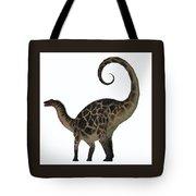 Dicraeosaurus Dinosaur Tail Tote Bag