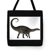 Dicraeosaurus Side Profile Tote Bag