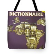 Dictionary Of Negroafrican Celebrities 1 Tote Bag