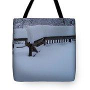 Did It Snow Last Night Tote Bag