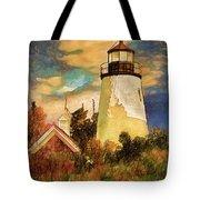 Dice Head ,castine, Maine Tote Bag